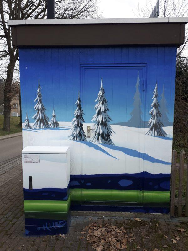 Dorf Chemnitz III